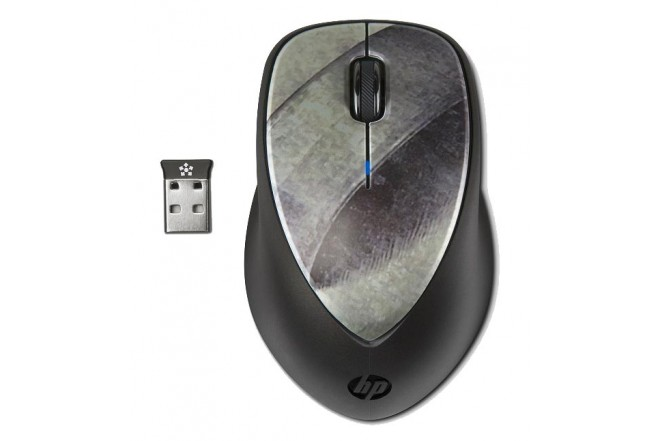 Mouse Inalámbrico HP Laser Negro/Plata
