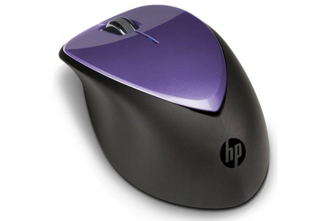 Mouse Inalámbrico HP Laser Purpura