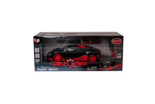 Vehículo R/C Veyron 16.4 Super Sport Red 1:16 RTR