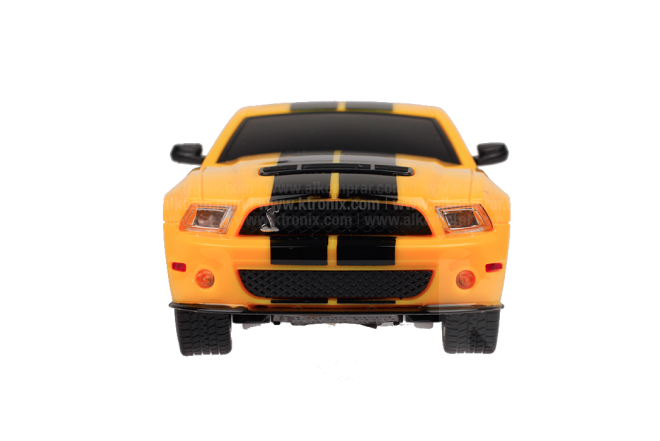 Vehículo R/C Ford Mustang Shelby GT500 1:26 Yellow