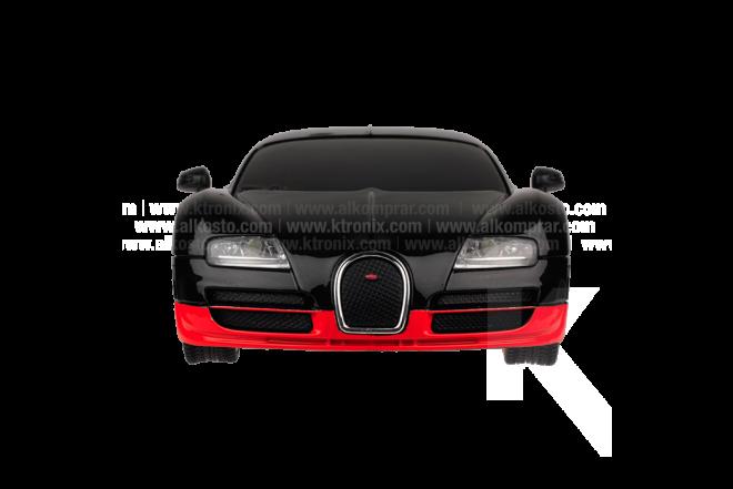 Vehículo R/C Veyron Bugatti 16.4 Super Sport Red B/O 1:26 RTR
