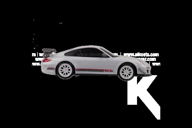 Vehículo R/C Porsche 911 GT3  1:26 RS B/O White