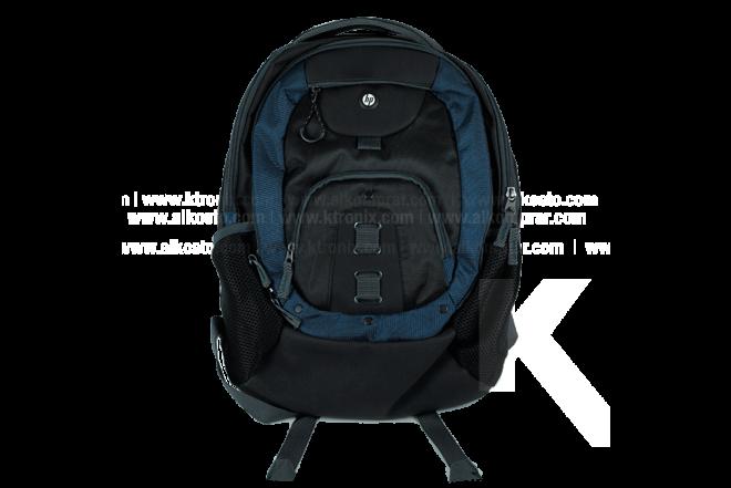 "Morral HP Premier Negro/Azul 15"""