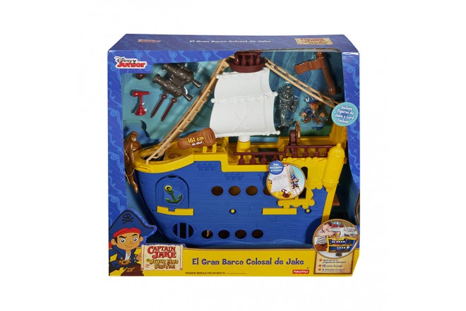 FISHER PRICE Gran Barco Colosal Jake
