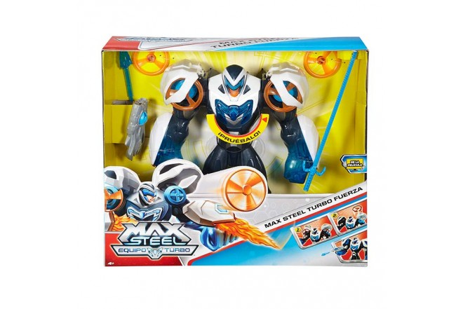 MAX STEEL Turbo Fuerza