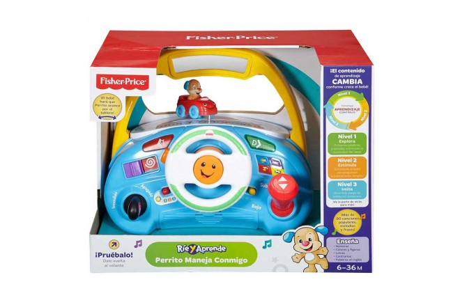 FISHER PRICE perrito maneja conmigo