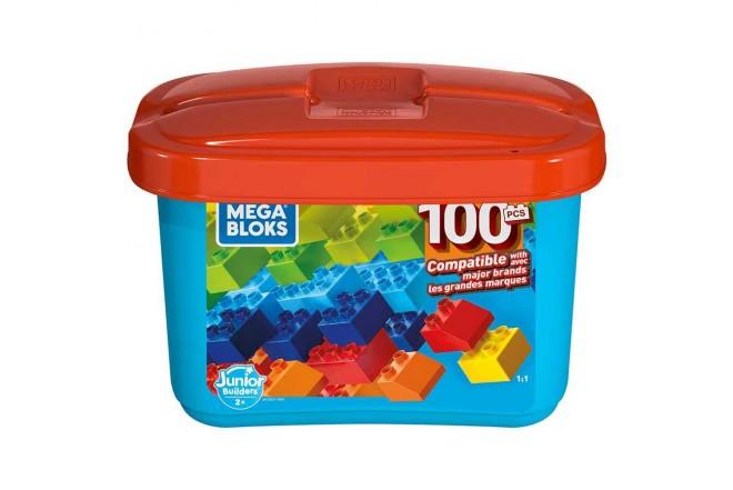 MEGA BLOKS mega caja de construcción mini 100 piezas