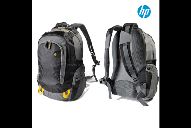 "Morral HP Outdoor 15.6"" Gris/Amarillo"