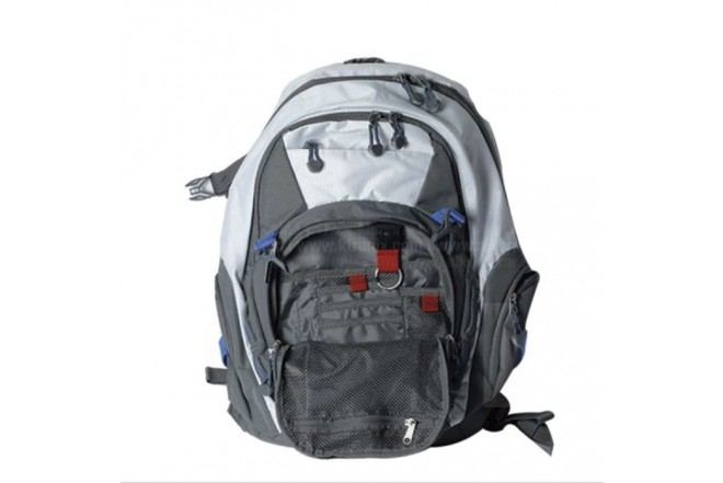 "Morral HP Full 16.6"" Gris/Blanco"