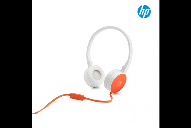 Diadema HP H2800 Blanco Cable Naranja 3.5