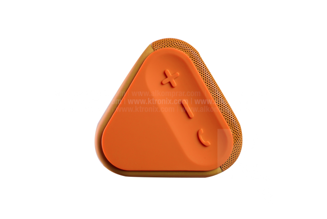 Parlante HP Inalámbrico Roar Mini Bluetooth Naranja