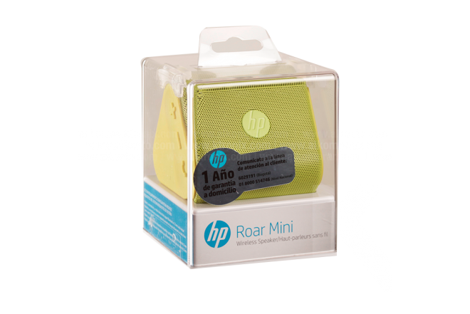 Parlante HP Inalámbrico Roar Mini Bluetooth Verde