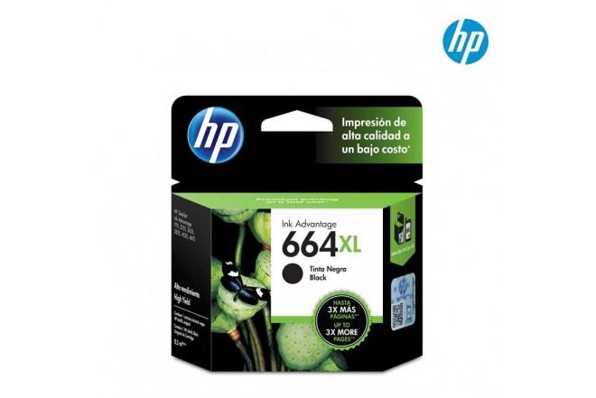 Cartucho HP 664XL Black Ink