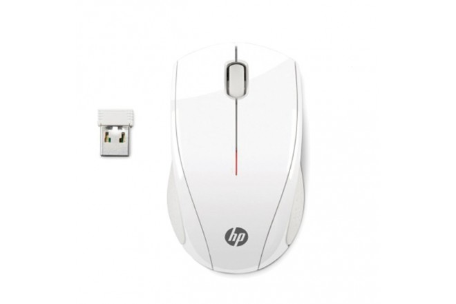 Mouse HP Inalámbrico Láser X3000 Blanco