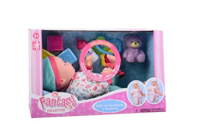Set bebé con movimientos y sonido Gigo toys rosado