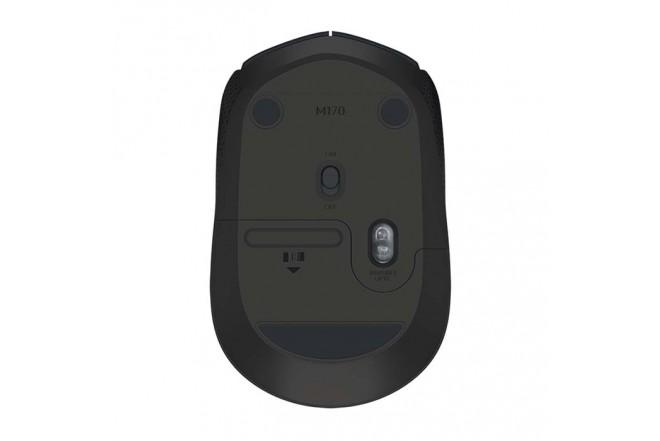 Mouse Logitech Inalambrico Optico M170 Negro