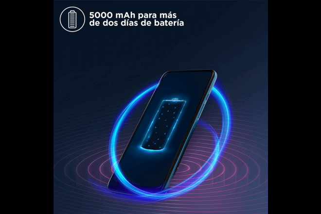 Celular Motorola One Fusion Plus 128GB Azul - Blackout Cloud_7