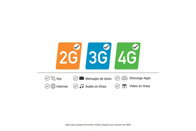 Combo Celular HUAWEI Y5P 32GB Azul + Cover Case_