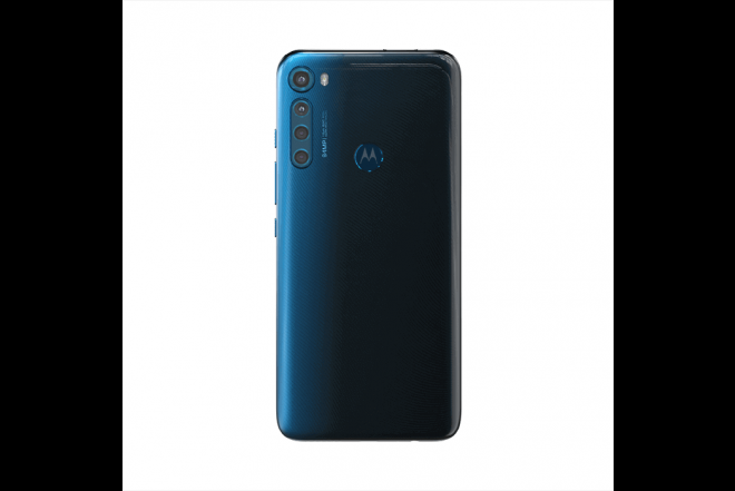 Celular Motorola One Fusion Plus 128GB Azul - Blackout Cloud_2