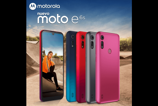 Celular MOTOROLA E6S 32GB Rosado - Electric Pink_6