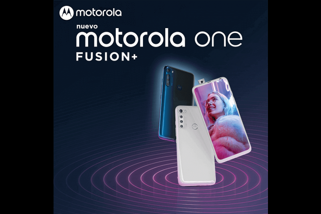 Celular Motorola One Fusion Plus 128GB Azul - Blackout Cloud_9