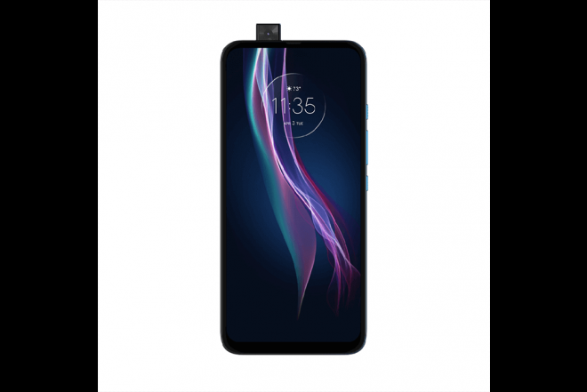 Celular Motorola One Fusion Plus 128GB Azul - Blackout Cloud_1