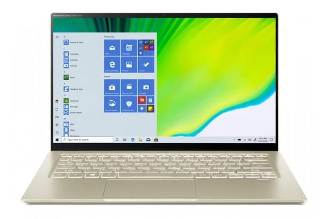 """Portátil ACER SF514-55T-58BD 14"""" Pulgadas Intel Ci5 11va Generación 8GB RAM Disco Solido 512GB Dorado_2"""