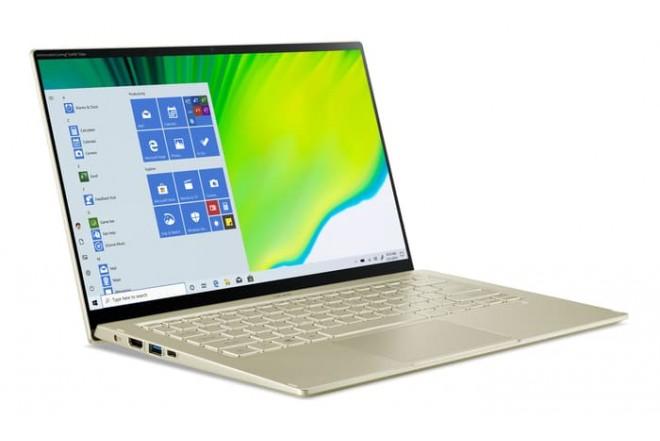 """Portátil ACER SF514-55T-58BD 14"""" Pulgadas Intel Ci5 11va Generación 8GB RAM Disco Solido 512GB Dorado_3"""