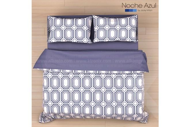 Comforter Extradoble NOCHE AZUL Alf 144 Hilos