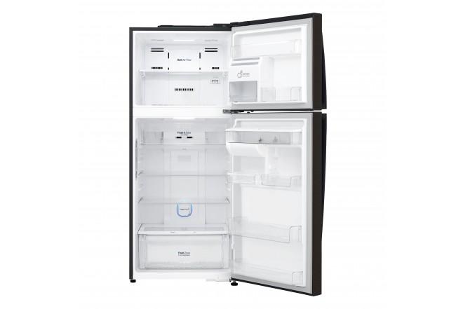 Nevera LG 437 LtLT41AGDXTop Freezer Fabricador de Hielo Negro 2