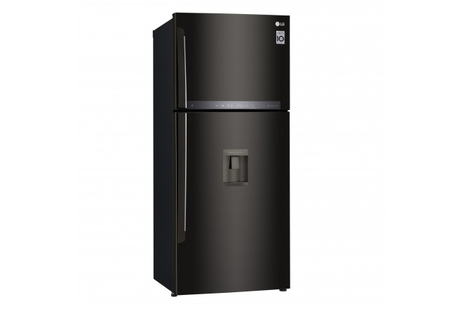 Nevera LG 437 LtLT41AGDXTop Freezer Fabricador de Hielo Negro 10