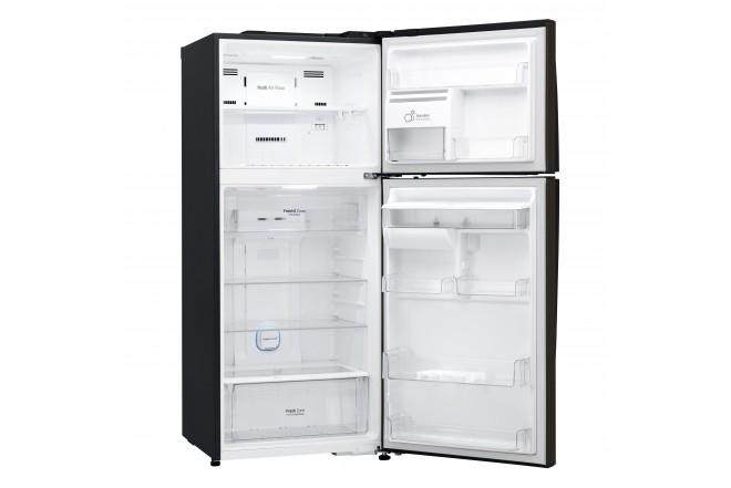 Nevera LG 437 LtLT41AGDXTop Freezer Fabricador de Hielo Negro 14