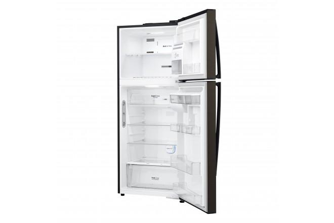 Nevera LG 437 LtLT41AGDXTop Freezer Fabricador de Hielo Negro 13