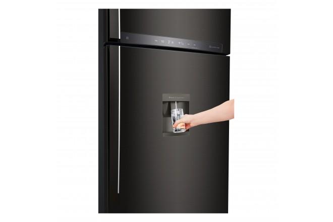 Nevera LG 437 LtLT41AGDXTop Freezer Fabricador de Hielo Negro 15