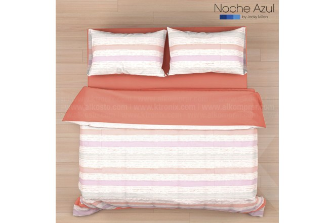 Comforter Extradoble NOCHE AZUL Ambar 144 Hilos