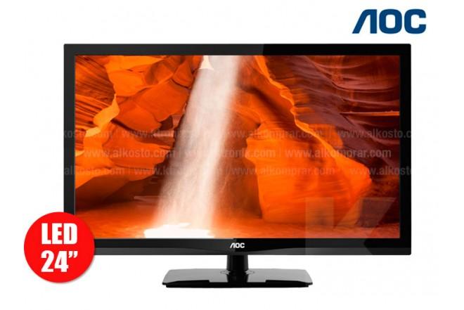 "Tv 24"" AOC  Led  LE24D1331 Full HD"
