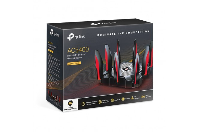 Router TP-LINK 8 Antenas AC5400 Mbps Gaming _3