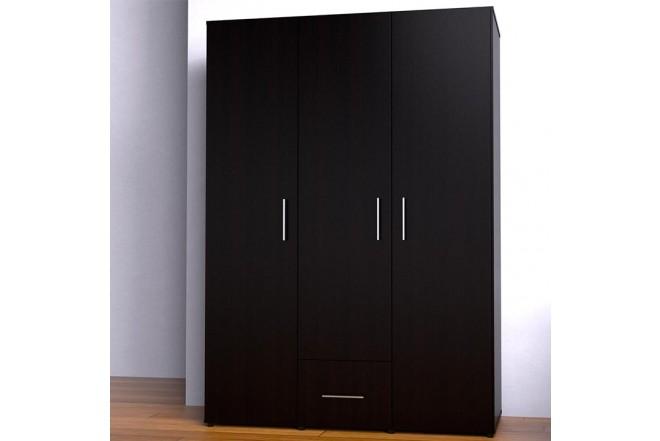 Closet MADERKIT 3 Puertas Ajustables Wengue