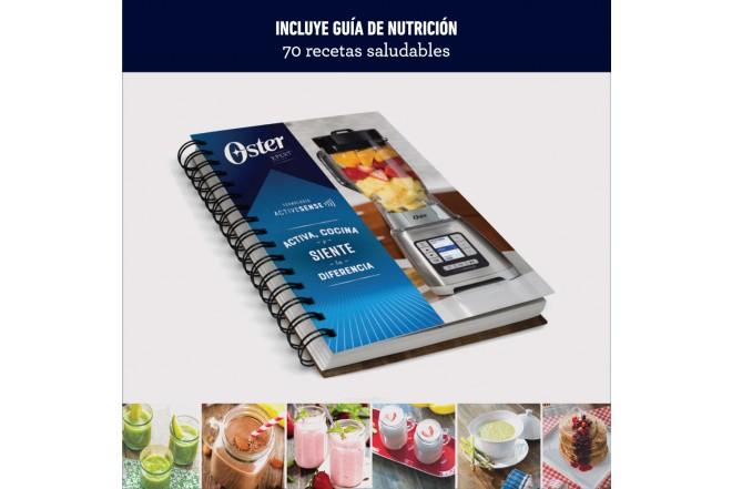 Licuadora ActiveSense™ Oster® BLSTTDGRBG, con Blend N Go, 2L , Roja6