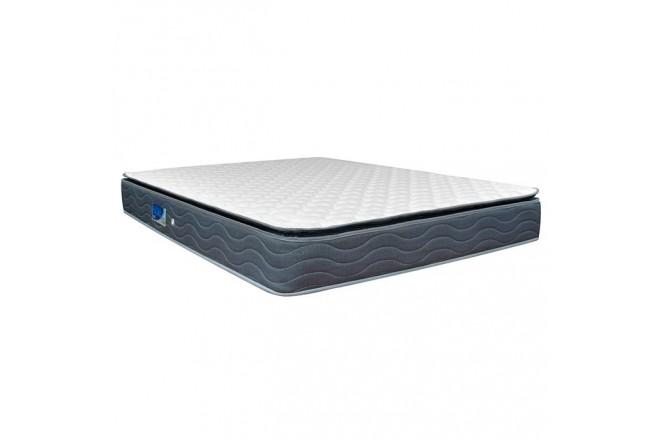 Colchón Resortado Semidoble FANTASÍA Blue Balanced 120 x 190 cm