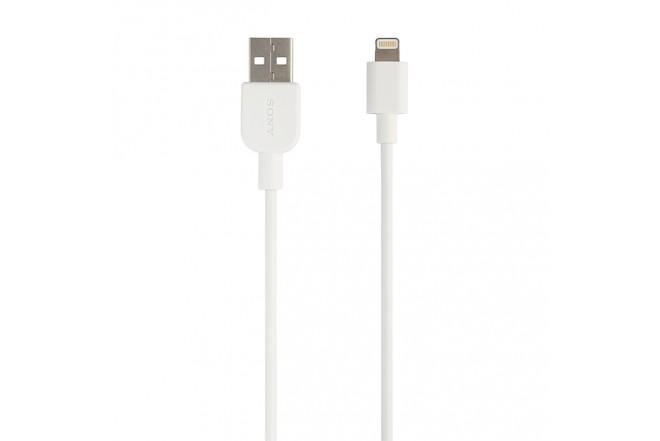 Cable Sony USB a Lightning 1 Metro  Blanco 1