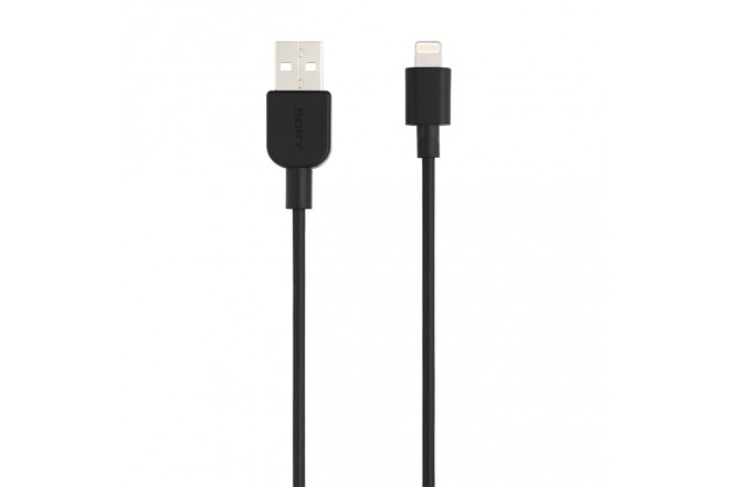 Cable Sony USB a Lightning 1 Metro  Negro 1