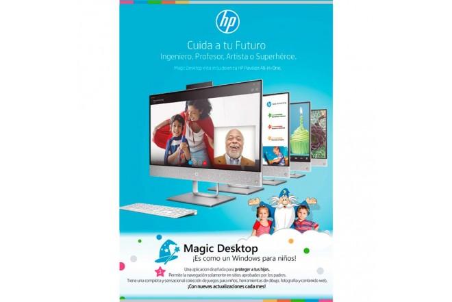 """PC All in One HP - 24-r101la - AMD Ryzen 3 - 23.8"""" Pulgadas - Disco Duro 1Tb - Blanco2"""