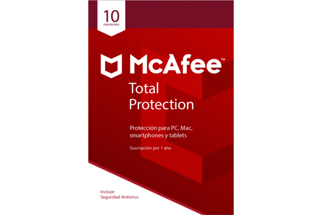 Antivirus McAfee Total Protection 10 Multidispositivivos 2