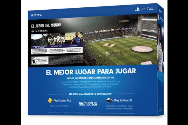 Consola PS4 1TB con Videojuego Fifa18-b