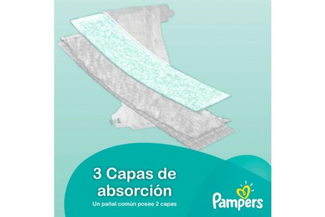 Pañal PAMPERS Baby Dry Etapa 6 Caja 64