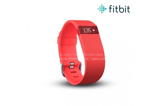 Charge HR Fitbit Reloj Naranja S