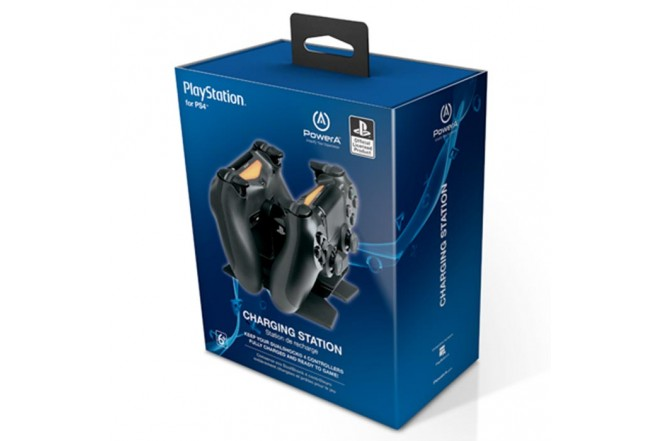 Cargador Dual PowerA PS4-3