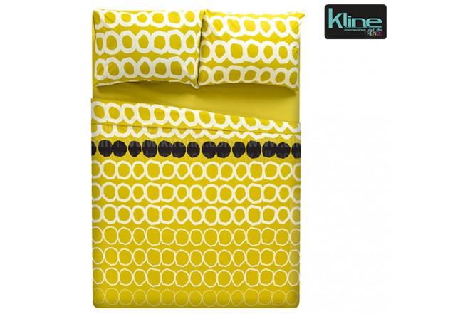 Juego de cama K-LINE estampado circulos semidoble