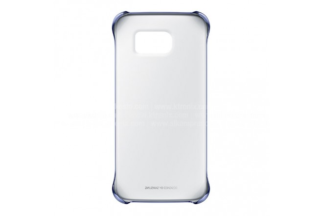 Clear Cover SAMSUNG Galaxy S6 Negro